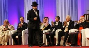 הרב פנחס גולדשמידט בפתיחת המועצה נגד אנטישמיות - דרישה מממשלת שבדיה: 'הגני על היהודים'