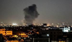"""צה""""ל תקף באישון לילה בעזה יעדים של 'ג'יהאד איסלאמי'"""