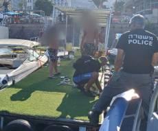 """התאונה בכנרת,  בוידאו: הפינוי במסוק לרמב""""ם"""