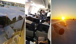 כעבור יום: הטיסה מניו יורק נחתה בישראל