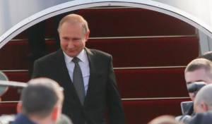 לפני הטקס המרכזי: נשיא רוסיה נפגש עם ראש הממשלה