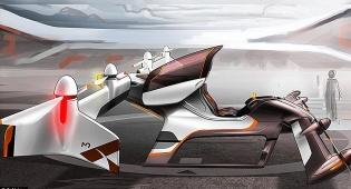המונית המעופפת - מדע בדיוני: בקרוב מונית מעופפת ללא נהג