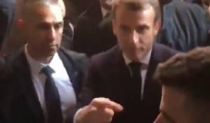 """צאו החוצה!: נשיא צרפת נגד מאבטחי שב""""כ"""