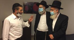 הרבנים עקבו אחר תלמידיהם במלונית