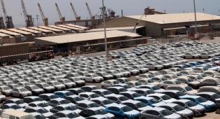 רכבים חדשים בנמל אילת