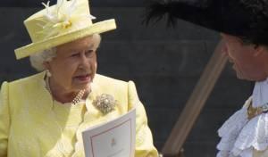 עוגת יום ההולדת של המלכה אליזבת