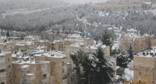 שלג בירושלים: התמונות שלכם