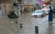 זרנוק ענק של מים: כך נראית ירושלים