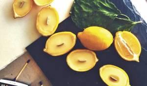 נרות שמן אתרי עשב לימון - מלימונים