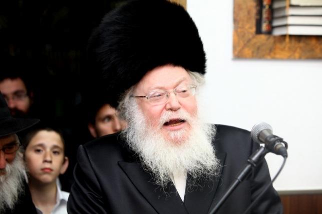 הרב צבי ביאליסוטצקי (צילום: מאיר אלפסי)