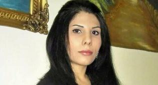 """נדא אמין - העיתונאית האיראנית נדא אמין נחתה בנתב""""ג"""