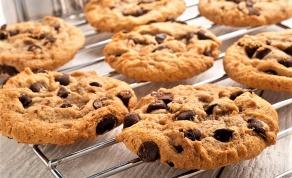 עוגיות שוקולד צ'יפס רכות ולעיסות