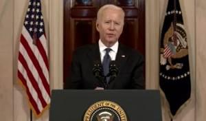 """ביידן בנאום: """"נחדש את מלאי כיפת הברזל"""""""