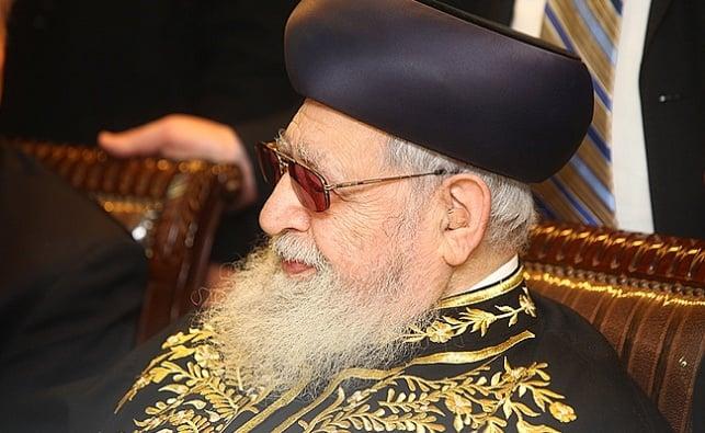 """מרן הגר""""ע יוסף"""