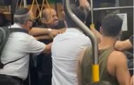אלימות באוטובוס: הנהג הכה נוסע • תיעוד