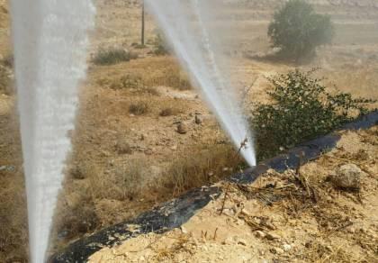 הערבים חיבלו בצינורות, היהודים ללא מים