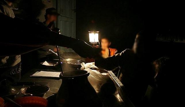 הפסקת חשמל, אילוסטרציה