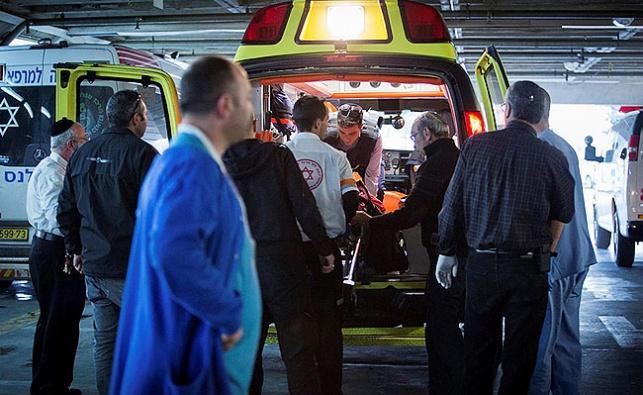 פינוי הפצועים מהפיגוע