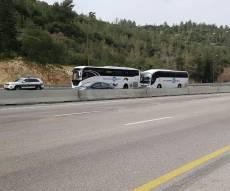 אוטובוסים מעוכבים בשער הגיא - אוטובוסים רבים עם נוסעים חרדים עוכבו ללא עוול בכפם