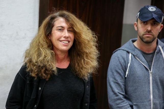 סטלה הנדלר בבית המשפט בהארכת המעצר הקודמת