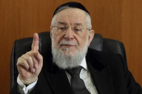 """הרב לאו - הגרי""""מ לאו: 'מה נשאר מהמדינה היהודית?'"""