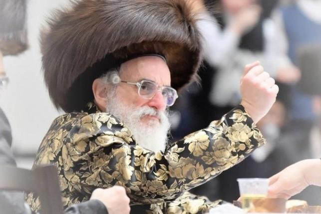 הרבי מויז'ניץ (צילןם: יהושע פרוכטר)