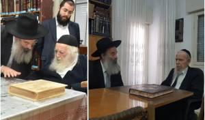 רובינשטיין אצל גדולי ישראל
