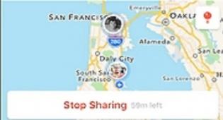 החברים על מפת המיקומים בתכונה החדשה - תנסו: הפיצר החדש של פייסבוק-מסנג'ר
