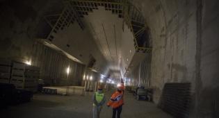 עבודות כריית הרכבת התחתית לירושלים - בוטלה התוכנית לרכבת עד הכותל המערבי
