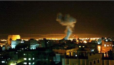 הפצצה בעזה - ההפצצה הלילה: כמה טונות נפץ על מנהרה