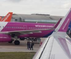 מטוס חברת wizzair, אילוסטרציה