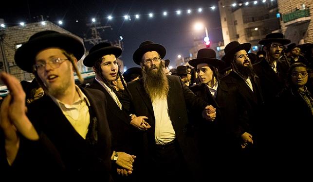 הפגנה של תומכי 'הפלג' והעדה החרדית בירושלים