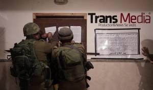 """סוגרים כלי תקשורת מסית - צה""""ל  פשט על 8 כלי תקשורת פלסטיניים"""