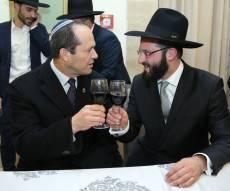 הפוליטיקאים הירושלמים חגגו עם שמואל מרציאנו • צפו
