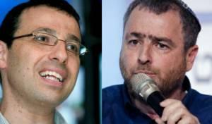 קרב מהלומות בין העיתונאי השמאלני לימני