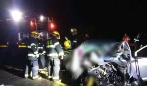 תאונה קטלנית: צעירה נהרגה; מספר פצועים