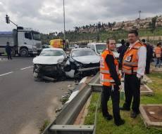 זירת התאונה, בצהריים
