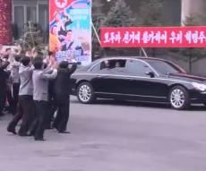 כשקים ג'ונג און בא להצביע בבחירות. צפו