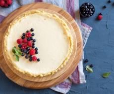 עוגת גבינה לא שגרתית עם 4 שכבות