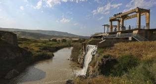 """""""אי השלום"""" בנהרים, ליד הגבול עם ירדן"""