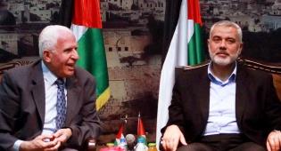 פגישת הפיוס בין חמאס לפתח - ארגון החמאס הודיע כי לא יוותר על נשקו