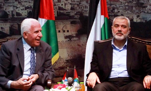 פגישת הפיוס בין חמאס לפתח