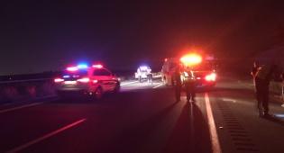 יצא ממכוניתו בכביש 6 - ונהרג ממשאית