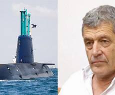 עד המדינה לשעבר, מיקי גנור ואחת הצוללות שנרכשו