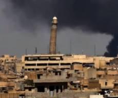 מסגד א נור במוסול - דאעש פיצץ את סמלו הבולט בעיר מוסול