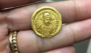 התלמידים מצאו מטבע של מבטל הסנהדרין