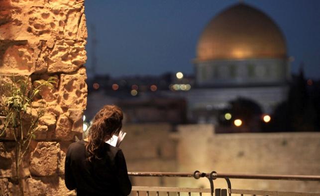 מבט להר הבית מהרובע היהודי