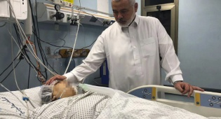 מנהיג חמאס מבקר את האחיינית