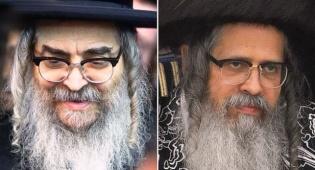 """האדמו""""רים מסאטמר: (צילום:ישראל כהן, מאיר אלפסי)"""