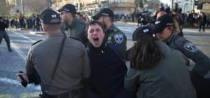 ירושלים במצור: תיעוד מההפגנות הסוערות